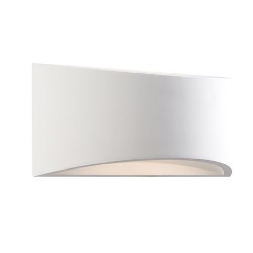 LED White plaster Wall Light BX61638-17 by Endon (Class 2 Double Insulated)